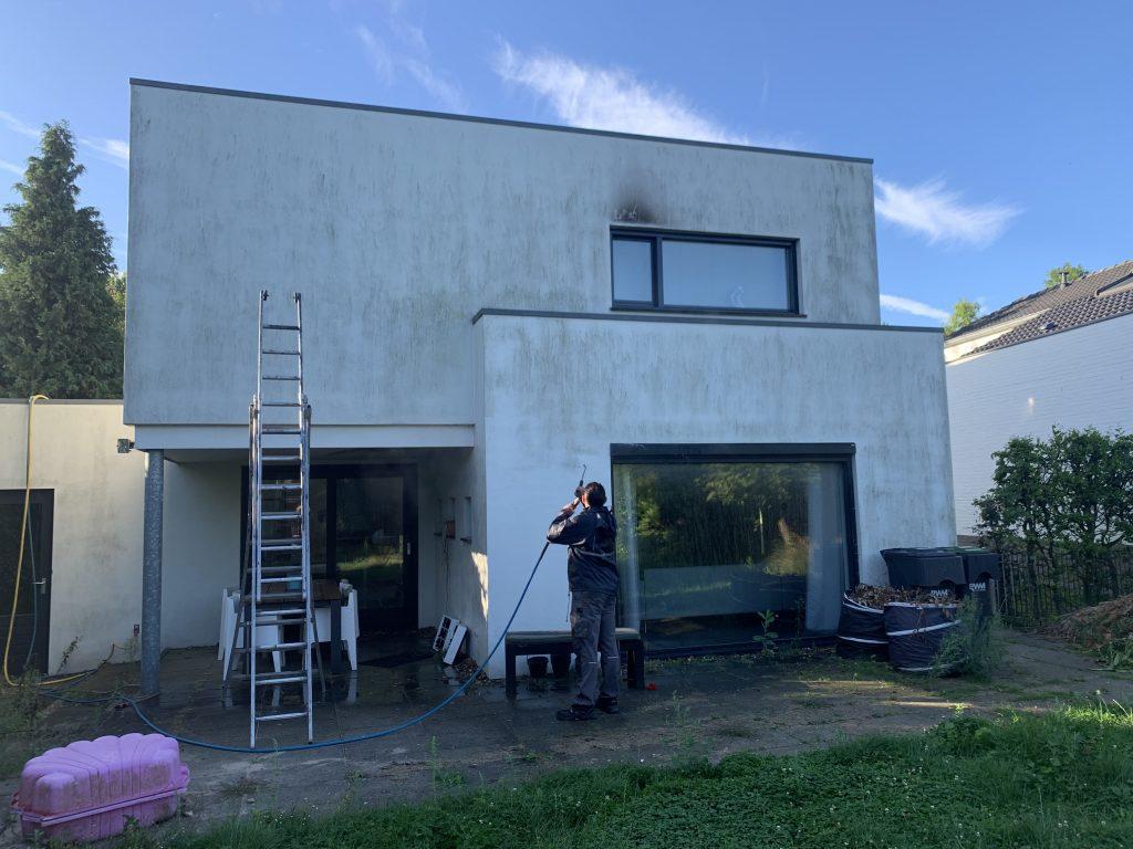 dak reinigen en coaten